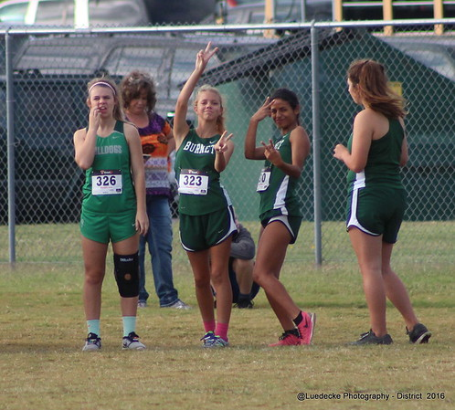 Cross Country: District JV Girls