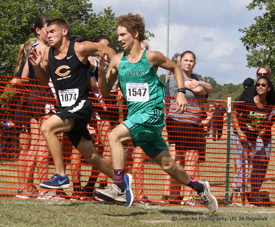 UIL 2A Region 3 Cross Country men