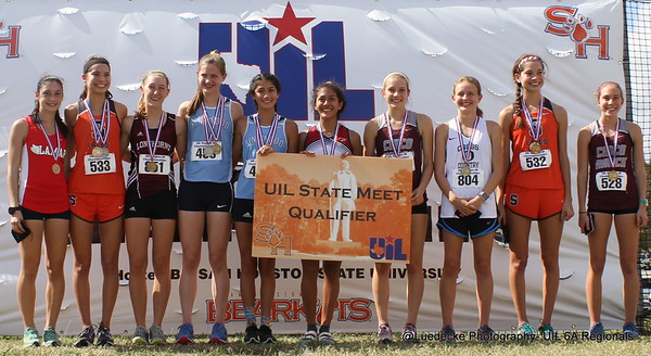 UIL 6A Region 3 Cross Country