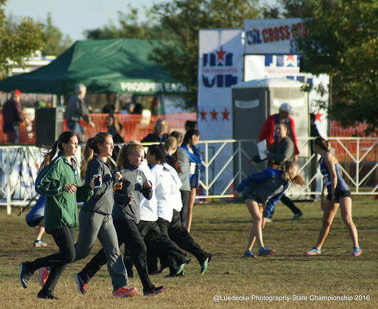State 4A girls - Cross Country UIL