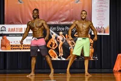 Men's Open Physique Tall PJ