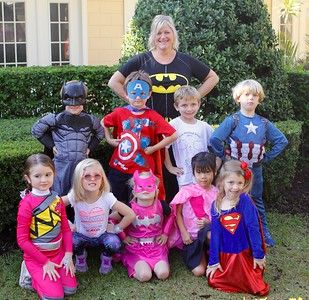 Superhero day - K4