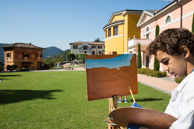 Painting on Campus