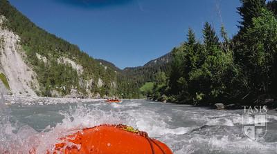 Rafting in Versam