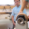 July 26: Working in the Woodshop