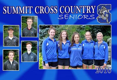2016 Summit Cross Country Seniors