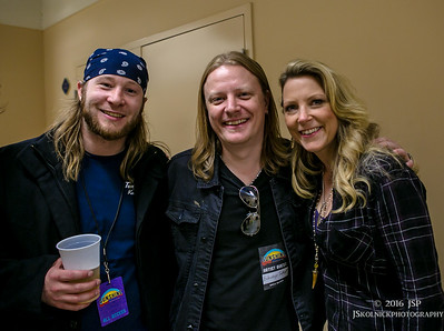 backstage at Sunshine Music Fest 1/17/16