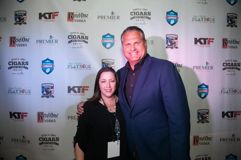 Shannon Jordan - Gridiron Greats & Jimbo Covert - Chicago Bears