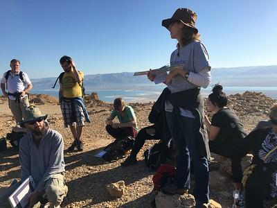 teaching at top of masada