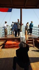 boat ride on sea