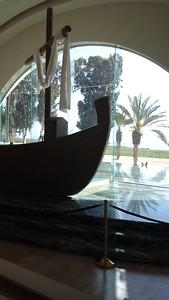jesus boat replica