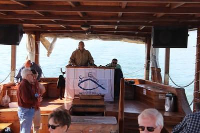 sea of galilee worship boat
