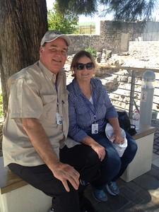 john & sissy at capernaum2