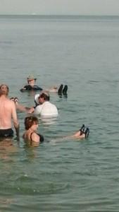 dead sea floaters jackie, charles, bomers