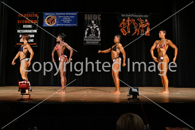 Womens Open Bodybuilding Prejudging
