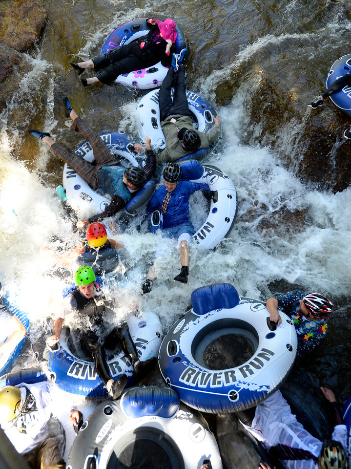Ninth Annual Boulder Tube to Work Day