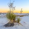 White Sands Dusk, White Sands National Monument, New Mexico, December 2015