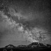 East Glacier Splendor, Eta Aquarid Meteor Shower, May 2016