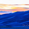Sand Dunes Twilight, Great Sand Dunes National Park, Colorado, September 2015