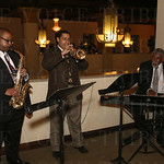 The Jerry Tolson Trio provided musical entertainment during the cocktail reception.