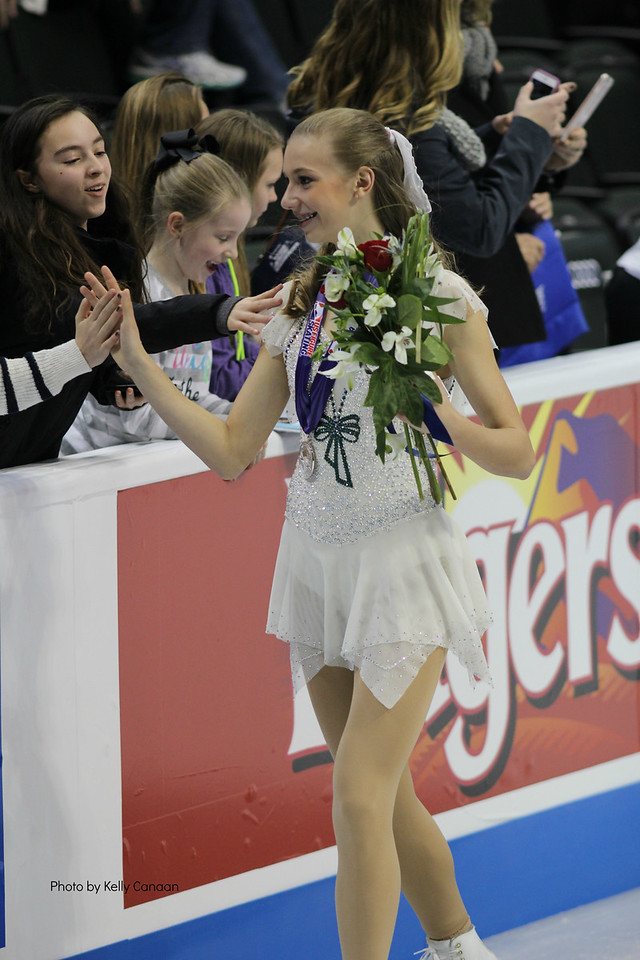 Flowers and a Medal