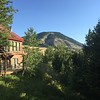 View from our room and the Rock Creek Lodge in Red Lodge, Montana.