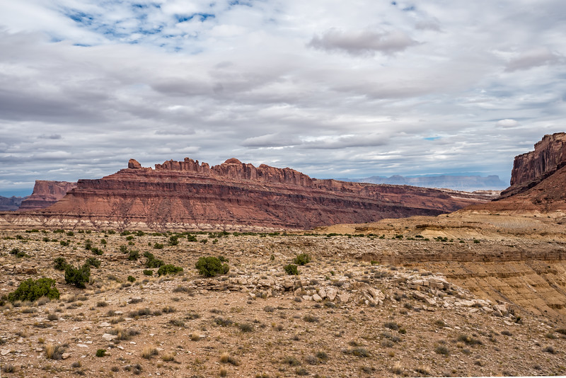 Driving to Moab along I-70