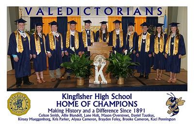2016 Valedictorians