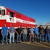 Proud veterans working at Tacoma Rail
