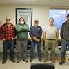 Proud veterans working at Cushman Dam