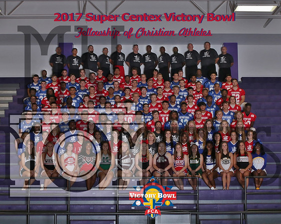 2017 Victory Bowl Team Photo