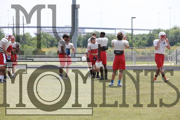 Thursday Practice Football
