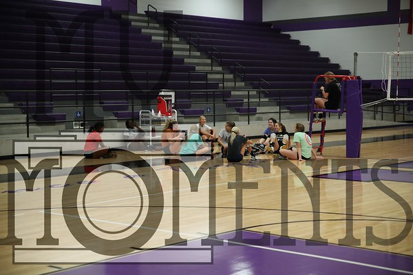 VB 2018 Wed. Volley Ball Practice