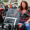Nice lady and her Harley