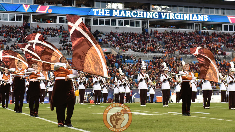 The Marching Virginians perform prior to the game.(Michael Shroyer/ TheKeyPlay.com)