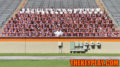 The 2016 Virginia Tech Hokies. (Michael Shroyer/ TheKeyPlay.com)