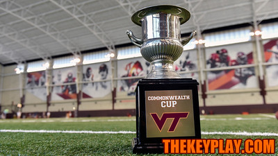 The Commonwealth Cup was available for interviews for the 12th straight year. (Michael Shroyer/ TheKeyPlay.com)