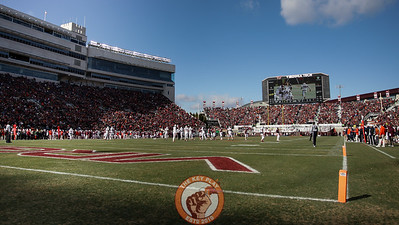 Lane Stadium is full for the Commonwealth Cup matchup. (Mark Umansky/TheKeyPlay.com)