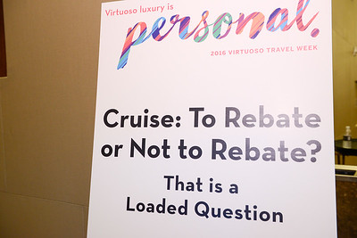 Cruise: To Rebate or Not to Rebate? That is a Loaded Question