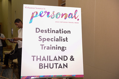 Destination Specialist Training: Thailand & Bhutan