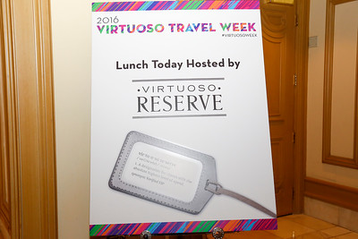 Participants' Lunch hosted by Virtuoso Reserve
