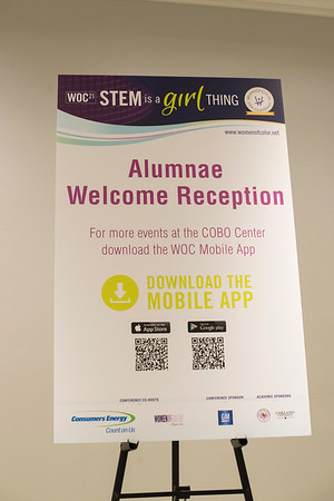 Alumnae Welcome Reception - 001