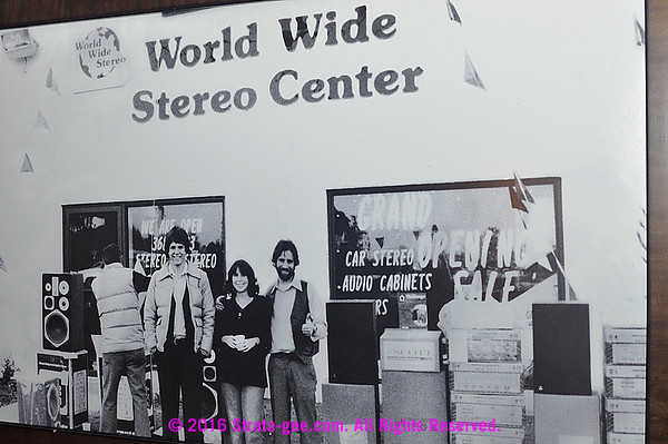 Photo of original WorldWide Stereo