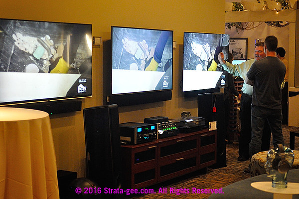 WorldWide Stereo's TV display