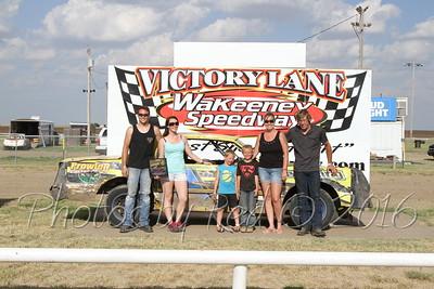 Wakeeney Speedway 6-12-16