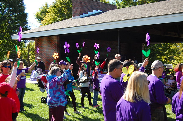 2016 Walk to End Alzheimer's Disease at Willow Park