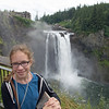 Lauren at Snoqualmie Falls