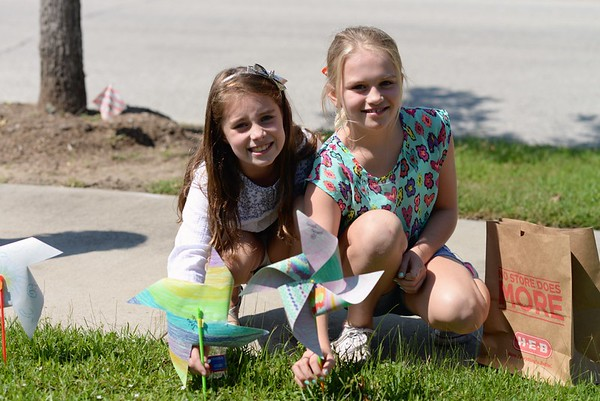 2016 - Wilchester Elementary Pinwheels for Peace