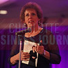 Joy Greear gives her Women in Business acceptance speech.