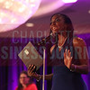Shaunte Evans gives her Women in Business acceptance speech.